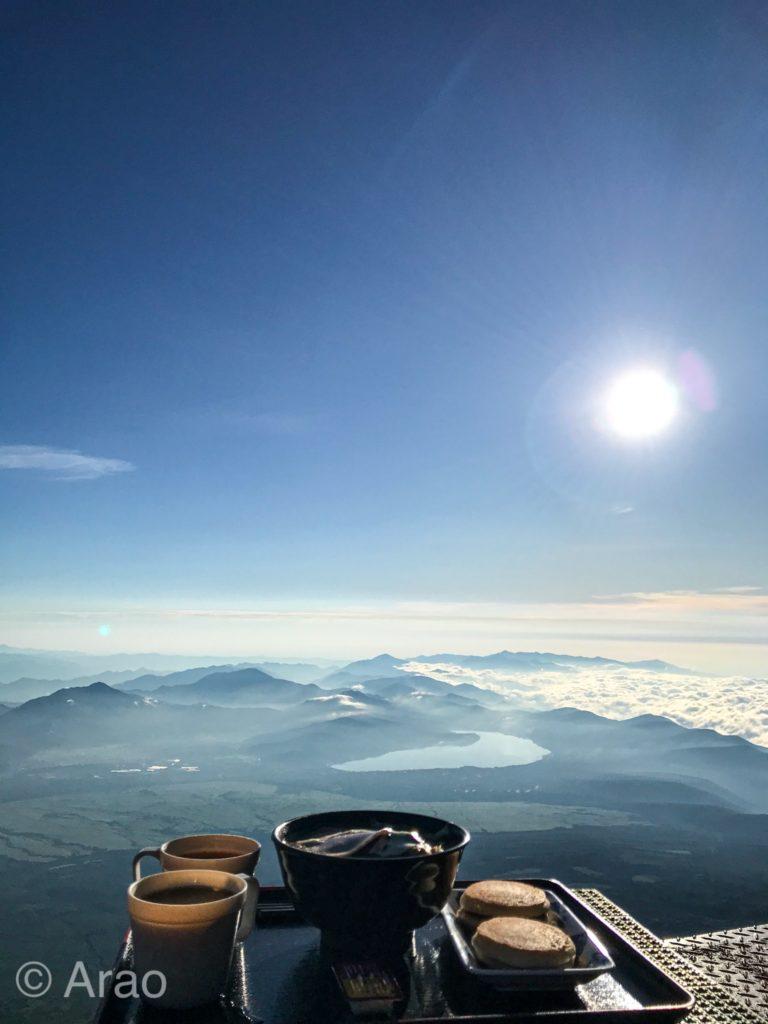富士山から見た景色