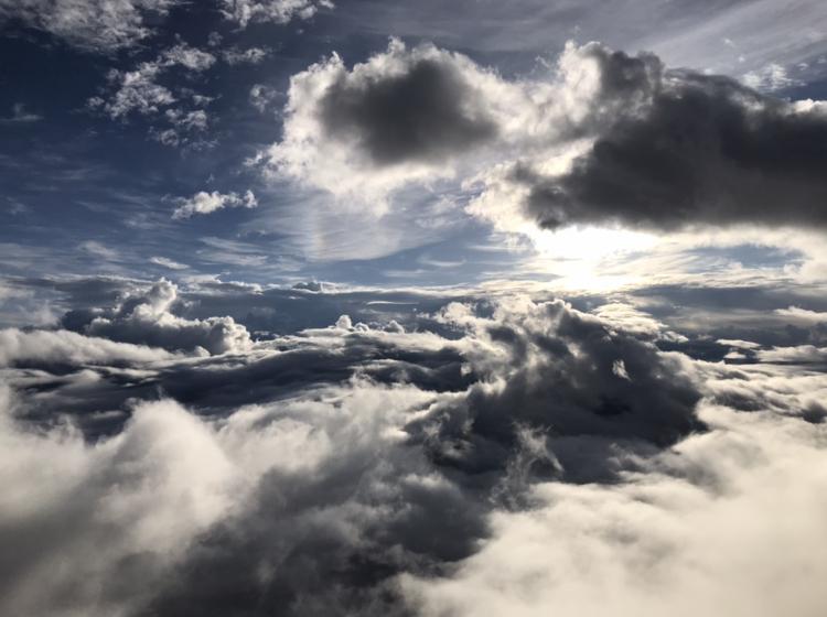 富士山からの景色(雲海)