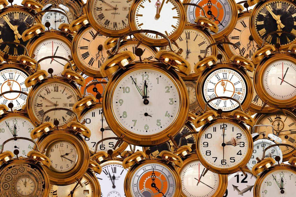 色んな種類の時計